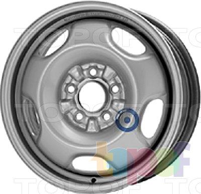 Колесные диски KFZ 9405. Изображение модели #1