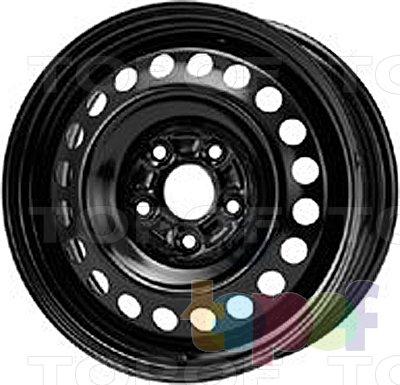 Колесные диски KFZ 9427. Изображение модели #1