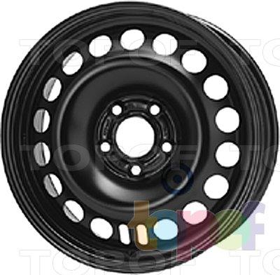 Колесные диски KFZ 9437. Изображение модели #1
