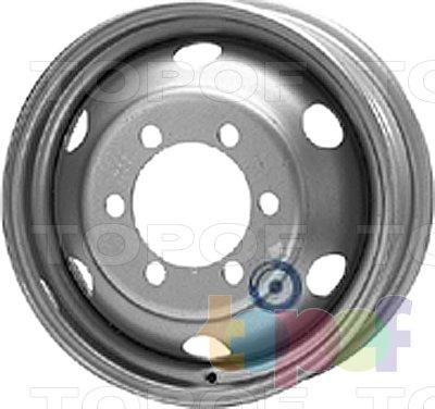 Колесные диски KFZ 9485. Изображение модели #1