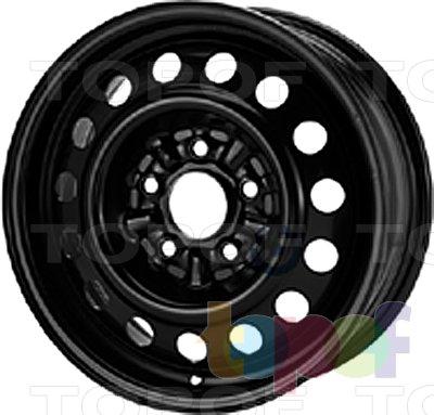 Колесные диски KFZ 9520. Изображение модели #1