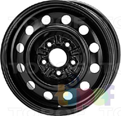 Колесные диски KFZ 9525. Изображение модели #1