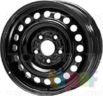 Колесные диски KFZ 9530. Изображение модели #1
