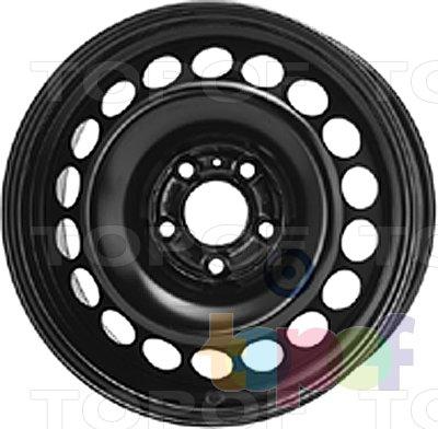 Колесные диски KFZ 9537. Изображение модели #1