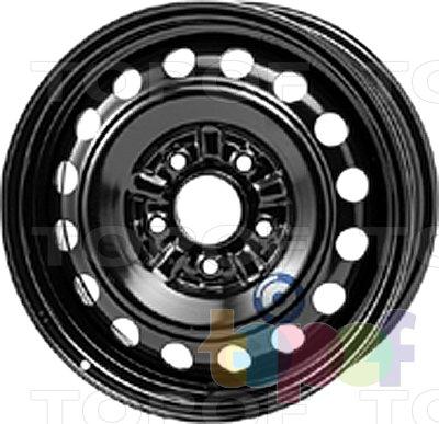 Колесные диски KFZ 9540. Изображение модели #1