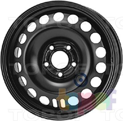 Колесные диски KFZ 9543. Изображение модели #1