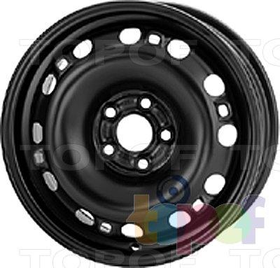 Колесные диски KFZ 9545. Изображение модели #1