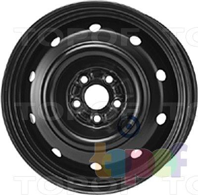 Колесные диски KFZ 9552. Изображение модели #1
