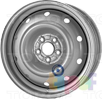 Колесные диски KFZ 9565. Изображение модели #1