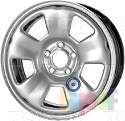 Колесные диски KFZ 9575. Изображение модели #1