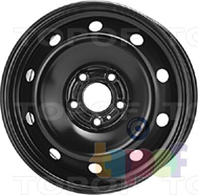 Колесные диски KFZ 9583. Изображение модели #1