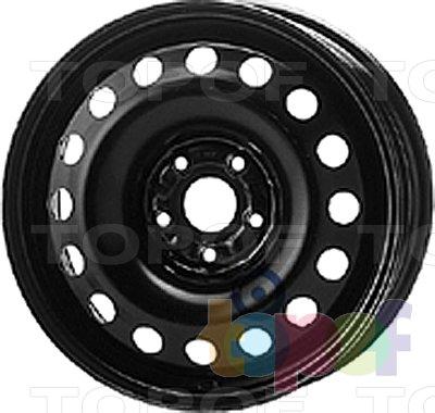 Колесные диски KFZ 9590. Изображение модели #1