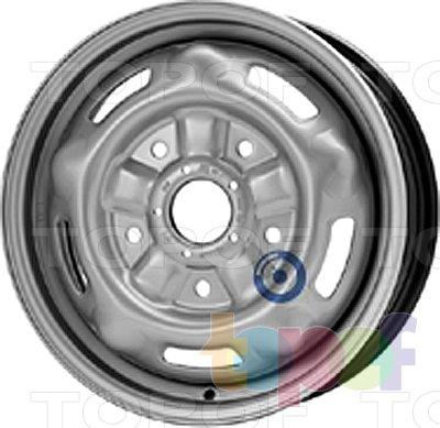 Колесные диски KFZ 9597. Изображение модели #1