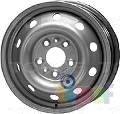 Колесные диски KFZ 9600. Изображение модели #1