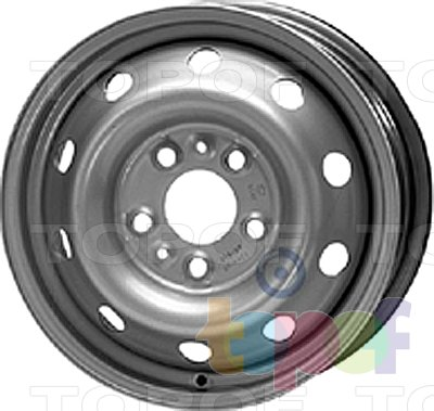 Колесные диски KFZ 9601. Изображение модели #1