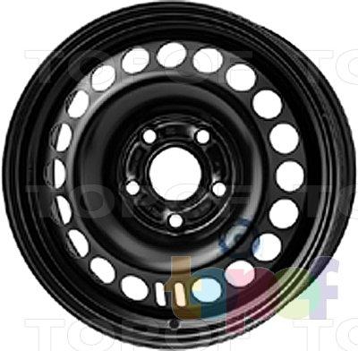 Колесные диски KFZ 9623. Изображение модели #1