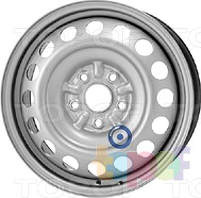Колесные диски KFZ 9645. Изображение модели #1