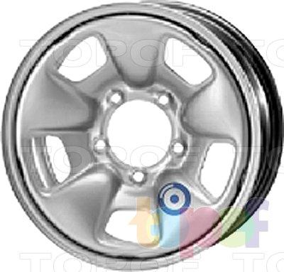 Колесные диски KFZ 9660. Изображение модели #1