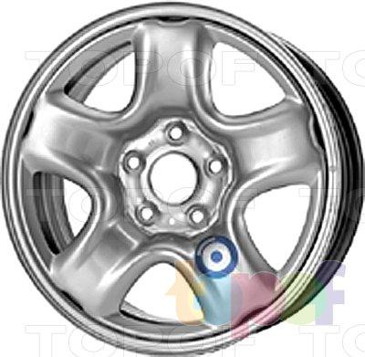 Колесные диски KFZ 9675. Изображение модели #1
