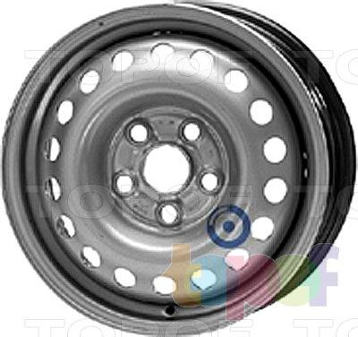 Колесные диски KFZ 9680. Изображение модели #1