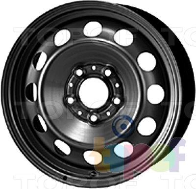 Колесные диски KFZ 9690. Изображение модели #1