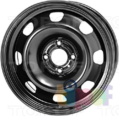 Колесные диски KFZ 9695. Изображение модели #1