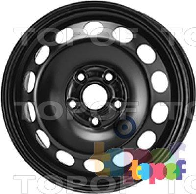 Колесные диски KFZ 9702. Изображение модели #1