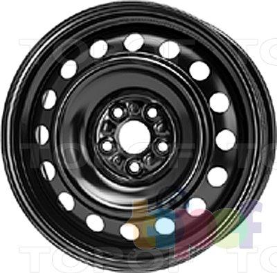 Колесные диски KFZ 9737. Изображение модели #1