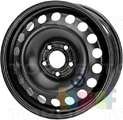 Колесные диски KFZ 9755. Изображение модели #1