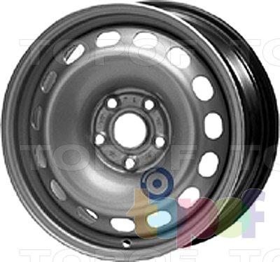 Колесные диски KFZ 9850. Изображение модели #1