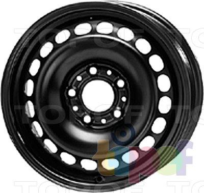 Колесные диски KFZ 9860. Изображение модели #1