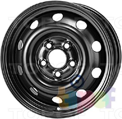 Колесные диски KFZ 9870. Изображение модели #1