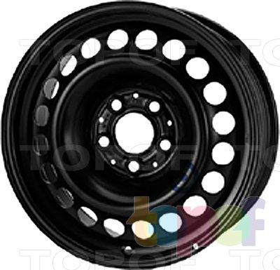 Колесные диски KFZ 9890. Изображение модели #1