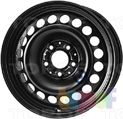Колесные диски KFZ 9892. Изображение модели #1