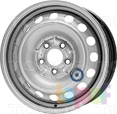 Колесные диски KFZ 9897. Изображение модели #1