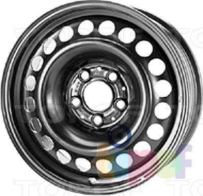 Колесные диски KFZ 9905. Изображение модели #1