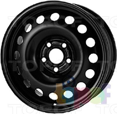 Колесные диски KFZ 9910. Изображение модели #1
