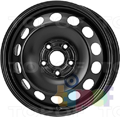 Колесные диски KFZ 9915. Изображение модели #1