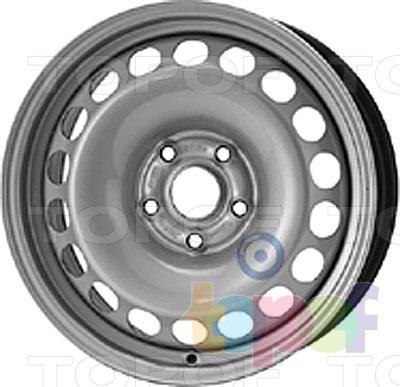 Колесные диски KFZ 9922. Изображение модели #1