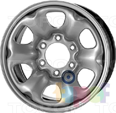 Колесные диски KFZ 9940. Изображение модели #1