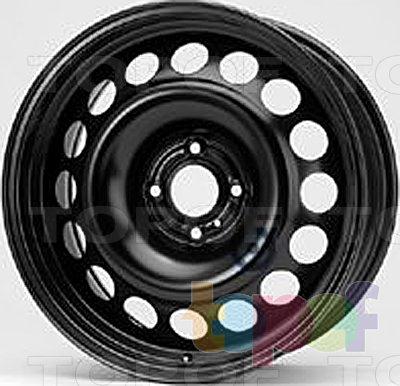 Колесные диски KFZ 9943. Изображение модели #1