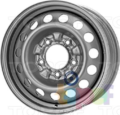 Колесные диски KFZ 9945. Изображение модели #1