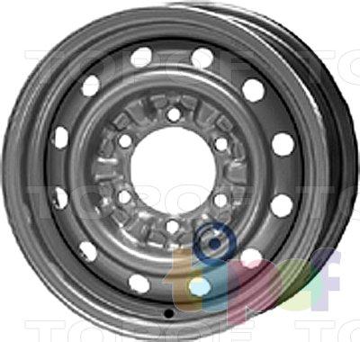 Колесные диски KFZ 9950. Изображение модели #1