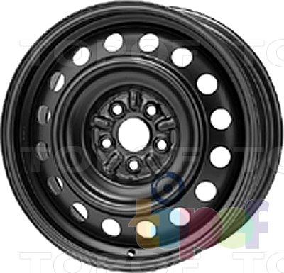 Колесные диски KFZ 9955. Изображение модели #1