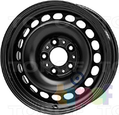 Колесные диски KFZ 9970. Изображение модели #1