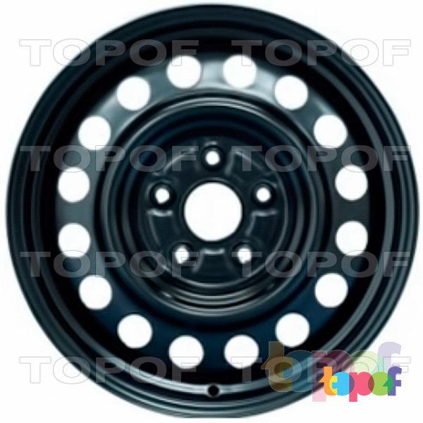 Колесные диски KFZ 9983. Изображение модели #1