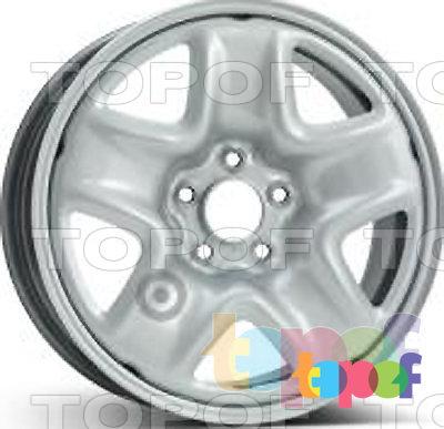 Колесные диски KFZ 9993. Изображение модели #1