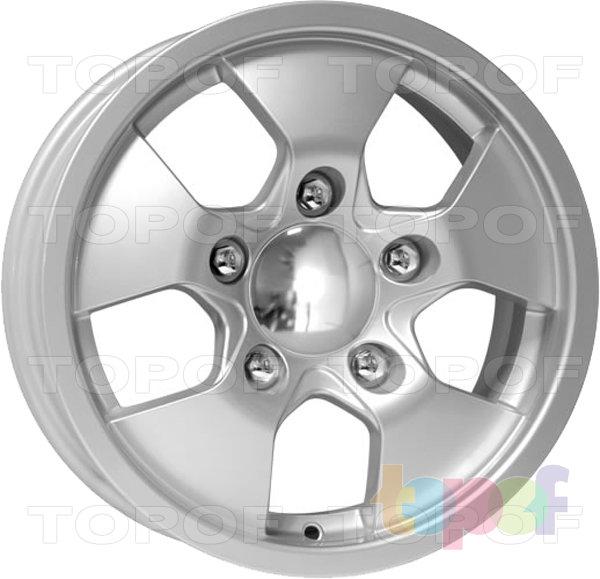 Колесные диски КиК Альфа. Изображение модели #2