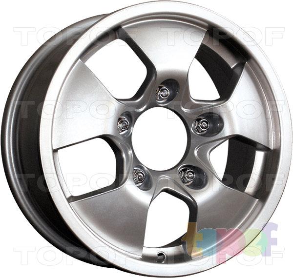 Колесные диски КиК Альфа. Изображение модели #3