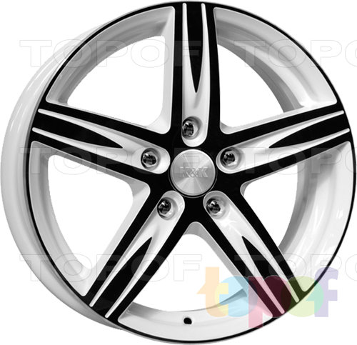Колесные диски КиК Андорра